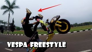 Video VESPA WHEELIE ! BONGKAR RAHASIA SPEK VESPA FREESTYLE MP3, 3GP, MP4, WEBM, AVI, FLV Maret 2019