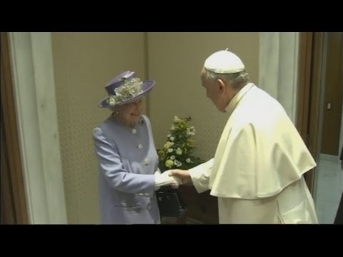 The Queen meets the Pope in the Vatican City - Director's Cut