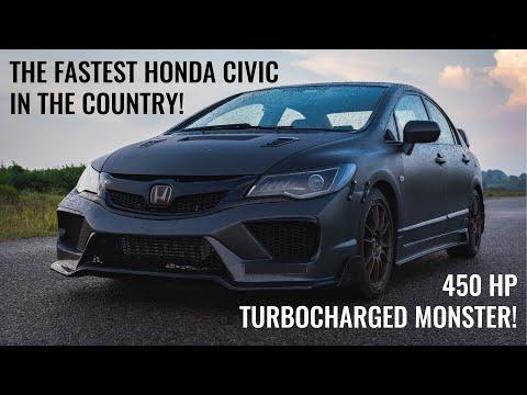 450HP R18 HONDA CIVIC - TURBOCHARGED!!