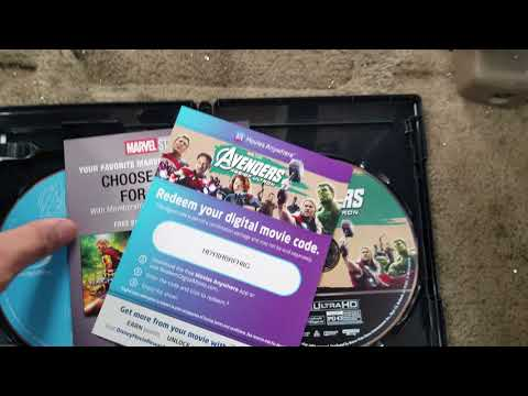 Avengers: Age of Ultron 4K UHD and The Chronicles of Narnia: The Voyage of The Dawn Treader BD Unbox