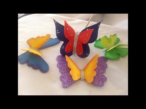 foamy - farfalla tridimensionale