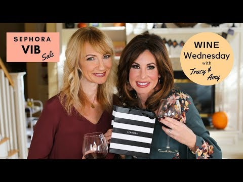 Sephora VIB Sale w/ Tracy & Amy Stock Up | Gift Giving | Self Indulging