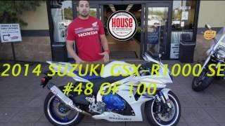7. 2014 GSXR-1000 SE #48 of 100 Walkaround @HouseofMotorcycles
