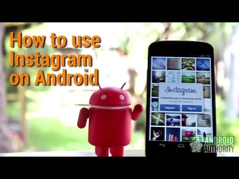 instagram - This video shows you how to use Instagram on your Android device. The Instagram app for Android looks deceptively simple, but it actually has a lot of wonder...