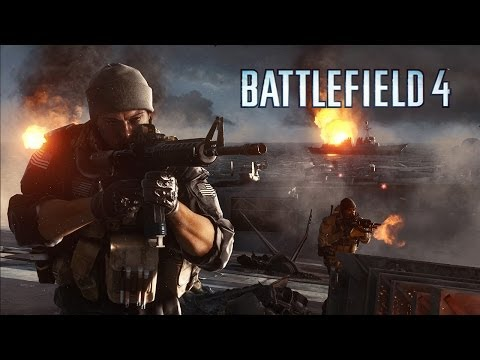 Battlefield 4 features a dramatic character-driven campaign that starts with the evacuation of American VIPs from Shanghai and follows your squad's struggle to find its way home. Learn more: http://bit.ly/17dQBvOBattlefield 4™ is the genre-defining acti