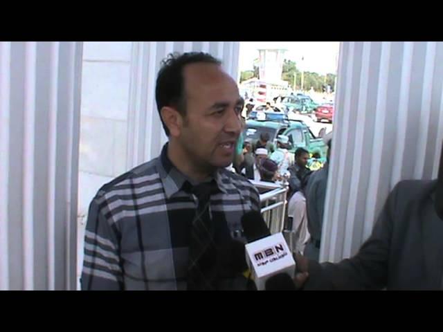 مصاحبه عبدالقادر مصباح رئیس نهاد اجتماعی خط نو در رابطه مسابقه بانوان شهر مزارشریف
