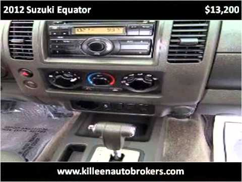 2012 Suzuki Equator Used Cars Killeen TX