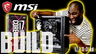 MSI X299 Gaming M7 ACK Motherboard Fractal Design BUILD. Yes we are using the Fractal Design Define C and the MSI X299 Gaming M7 ACK Motherboard with the Intel Core i7-7820X LGA 2066 and the Be Quiet Shadow Rock TF 2. Full Build Spec Below:🖥️MSI X299 Gaming M7 ACK Motherboard🖥️Intel Core i7-7820X LGA 2066🖥️Be Quiet Shadow Rock TF 2. 🖥️64 GB Crucial Elite 🖥️Antec 750 Watt PSU 🖥️Akasa Vegas LED Strip 🖥️EVGA GTX 970 Overclocked edition 🖥️Fractal Design Define C If you liked this build then why not checkout my computer builds playlist below:https://www.youtube.com/playlist?list=PLQ_8_yVZSSGUmwWy6ZGfskaBOnCMLK1TA💸 Use our Overclockers UK affiliate link! - https://goo.gl/hmsU3A💸 Or our Amazon affiliate link! - http://amzn.to/2txNlbQ👕👚 SHOP MXDOUT MERCH! 👚👕https://shop.spreadshirt.co.uk/MXDOUT/See you in the next one, thanks for watching! 😜