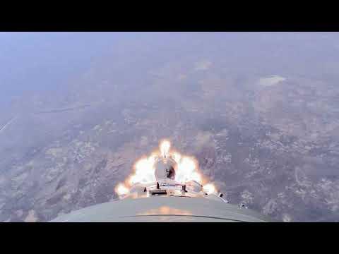 Роскосмос опубликовал видео аварии «Союза-ФГ»