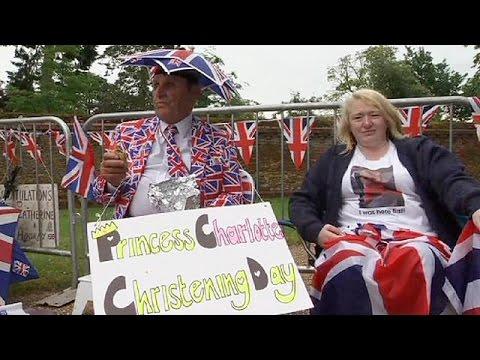 Βρετανία: Βασιλικός πυρετός για τα βαφτίσια της πριγκίπισσας Σάρλοτ