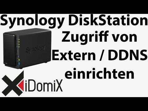 Synology DiskStation DDNS einrichten Zugriff von extern außen