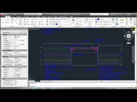 AutoCAD 2012 - Lesson 4 - Layers and Print/Plot