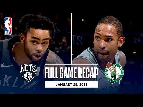 Video: Full Game Recap: Nets vs Celtics | Boston Blocks 16 Shots