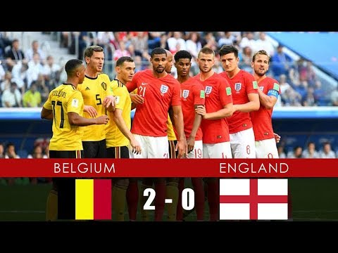 3rd Place Play-off: BELGIUM vs ENGLAND 2-0 - All Goals & Extended Highlights - 14th July 2018