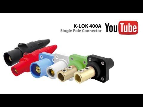 K-LOK 400A Single Pole Connector