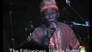 The Ethiopians Leonard Dillon - Live In Italy 199x