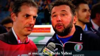 La partita del Cuore 2016 ai microfoni Paolo Vallesi
