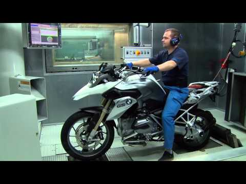 BMW Motorrad motorcycle assembly 2014 Berlin plant