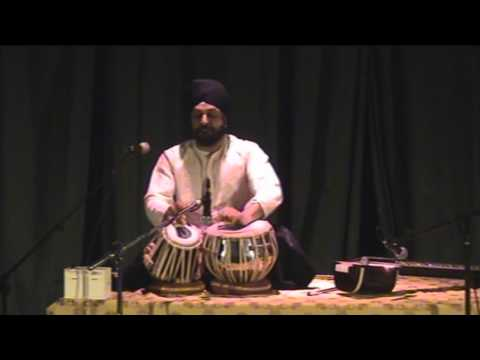 tabla gharana - A rare and beautiful Gat composition from the Farukhabad Gharana with complex paltas and division of Bhari-Khali in this incredible vilambit laya. An incredi...