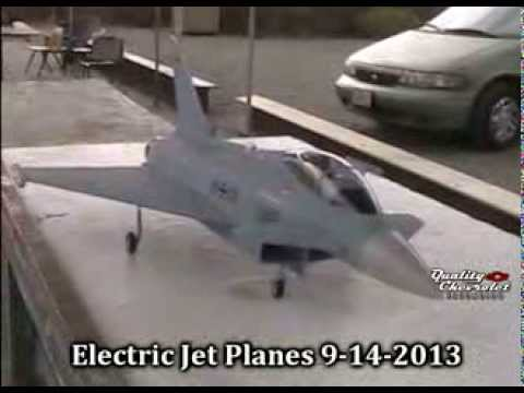 All Electric Remote Control Jet Planes 9-14-2013