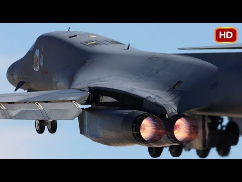 The Rockwell B-1 Lancer is a supersonic...