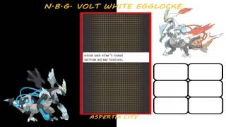 Let's Play - Pokemon Volt White 2 Egglocke: Part 1