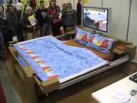 أحدث سرير في العالم - إختراع ياباني