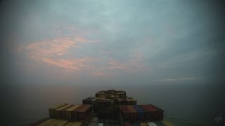 Mundra India  city photos gallery : Time-lapse (120x): arrival Mundra (India) [4K / UHD]