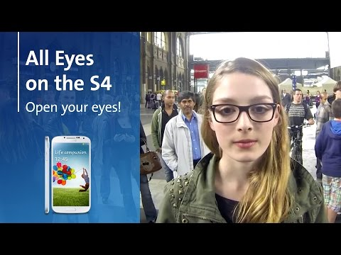 Image of All eyes on the S4 and win a Samsung Galaxy S4 - Swisscom competition - Swisscom Galaxy S4 Promo Video