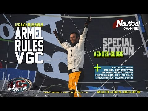 NC Sports 20 JAN | Le Cleac'h Wins Vendée, IDEC Record At Horn, Aussie Jr. Surf Series