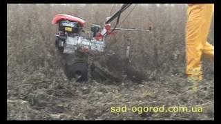 Мотоблок Гепард-4 с активными роторами (Видео 4)