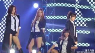Gwangmyeong-si South Korea  city photos : 120101 MBC 가요대제전 씨스타(Sistar) & 티아라(T-ARA) - Now(효린, 소유 Cut)
