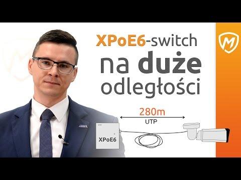 NOWY XpoE6-switch na duże odległości