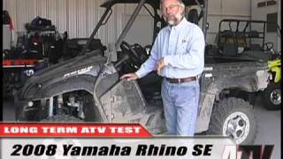 6. ATV Television Test - 2008 Yamaha Rhino 700 SE Long Term Wrap-up