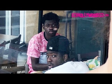 Lil Nas X Stops By Subway To Celebrate Old Town Road's 17 Weeks At #1 On The Billboard Charts