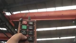 220/380V 60Hz Wire rope Hoist pendant control youtube video