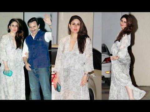 Video Kareena Kapoor At Mom Babita Kapoor Birthday Party download in MP3, 3GP, MP4, WEBM, AVI, FLV January 2017
