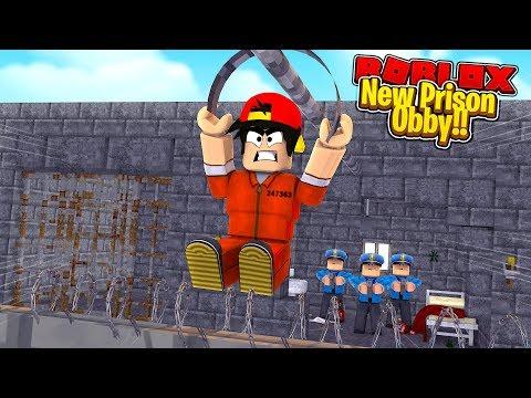 ROBLOX - THE NEW ESCAPE JAIL BREAK OBBY!!