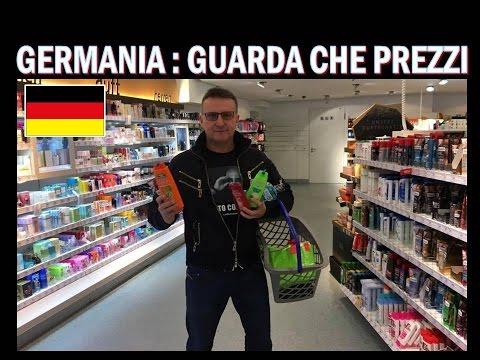 Spesa in Germania con Lambrenedetto !!!  guarda che prezzi
