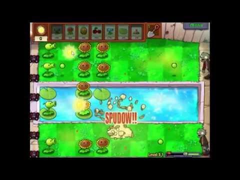 Plants Vs Zombies Lv 3-1