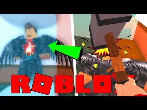 IK HEB HEM GESLAGEN MET EEN HAMER !!   Roblox Flee The Facility