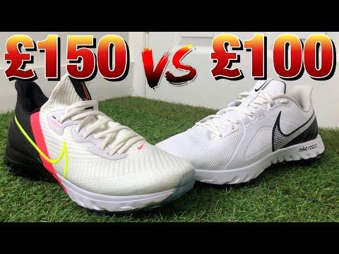 Nike Air Zoom Infinity Tour vs Nike React Infinity Pro | Nike golf shoes comparison