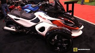 7. 2015 Can-am Spyder RS S Accessorized - Walkaround   2015 Toronto Motorcycle Show