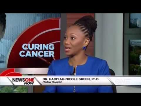 """""""Curing Cancer"""" Dr. Hadiyah Green interviews with Roland Martin, TVOne (new donation information)"""