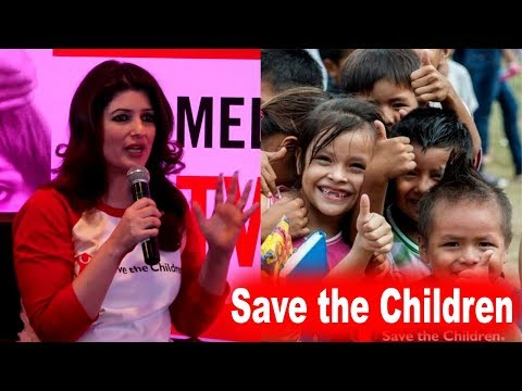 Twinkle Khanna  Shares Experience Meeting With Childs | Save the Children  |