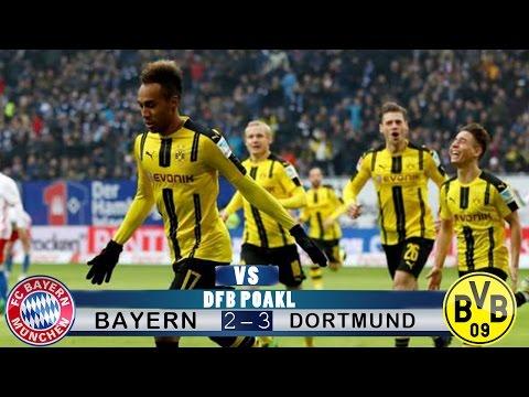 Bayern Munich vs Dortmund - ALL GOALS & EXTENDED HIGHLIGHTS - 2:3 (26.04.2017) HD Semi-Final