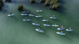 Tihany Hungary  City pictures : SUP túra - Stand Up Paddle Tour at Lake Balaton, Tihany, Hungary