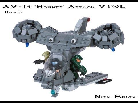 LEGO AV-14 Hornet - Halo 3
