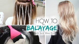 Video How to Balayage Hair | Freehand Painting MP3, 3GP, MP4, WEBM, AVI, FLV April 2018
