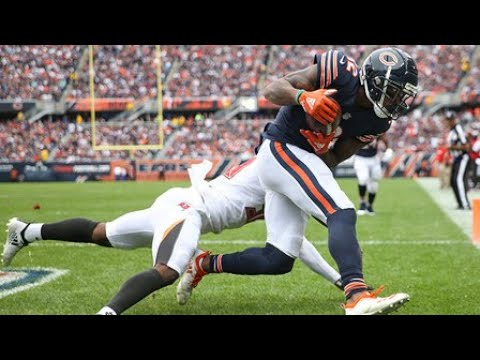 Allen Robinson tracks looping pass for first TD catch as a Bear